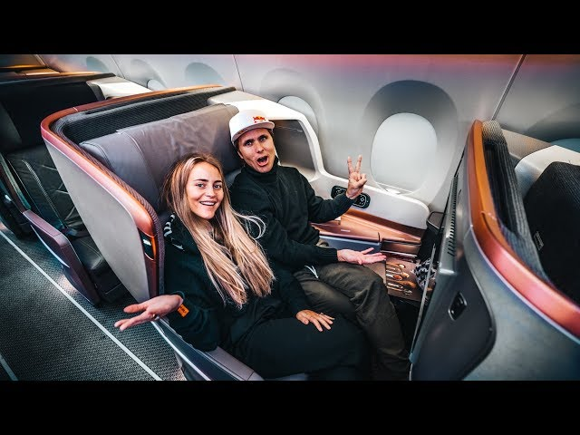 THE BIGGEST BUSINESS CLASS IN THE WORLD!  | VLOG⁴ 02 (Part 2)