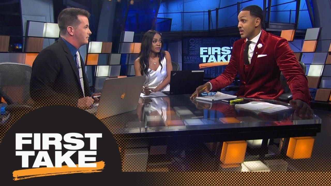 First Take debates if Damian Lillard should want to join LeBron James on Lakers | First Take | ESPN