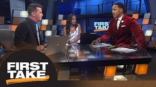 First Take debates if Damian Lillard should want to join LeBron James on Lakers | First Take | ESPN