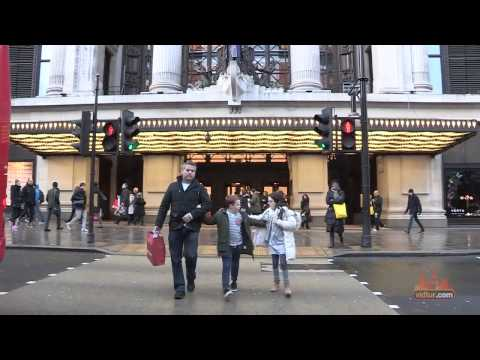 Explore Oxford Street   London׃ Travel Video Guide