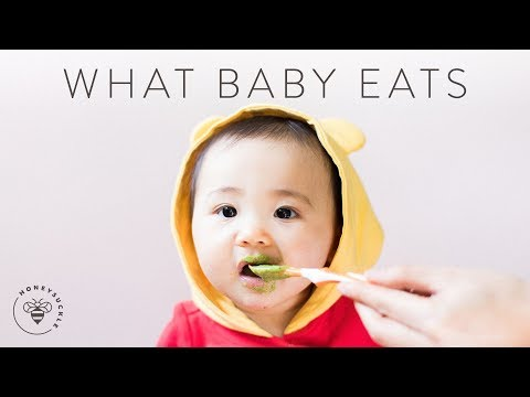 What BABY EATS in a Day (Homemade Baby Food) 👶 MOMDAY 2