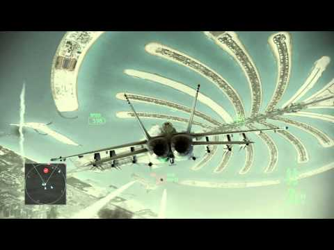 Ace Combat Assault Horizon :: (Mission 6) Power Play :: (HD) :: Difficulty Elite