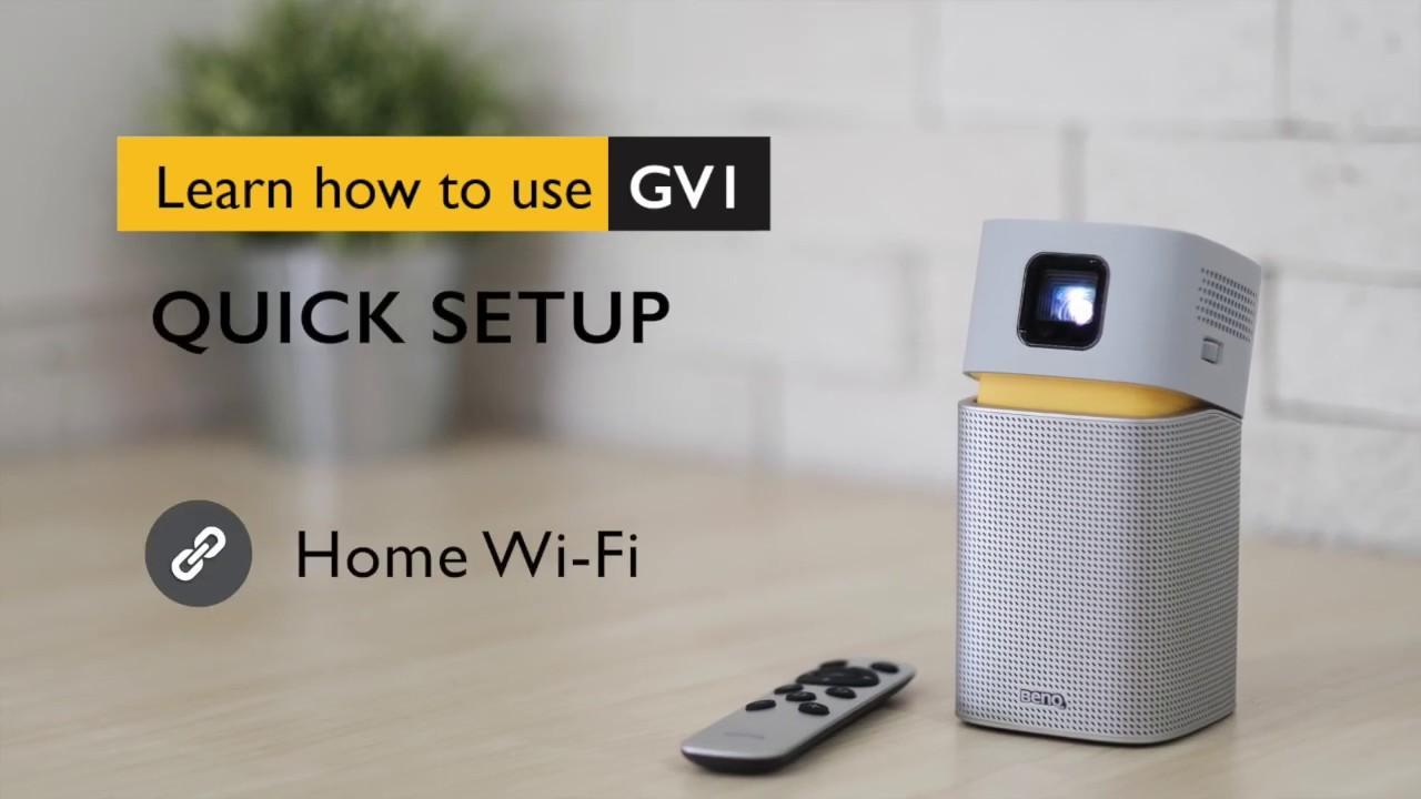 iPhone / iPad 如何與微型投影機 GV1 無線投影│BenQ投影機 - YouTube