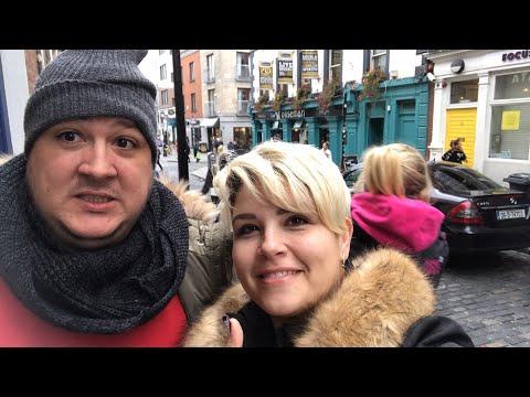Caminhando no Temple Bar - Dublin (Irlanda) - Ep.218