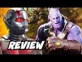 Ant-Man and The Wasp Review and Avengers Movies Ranked