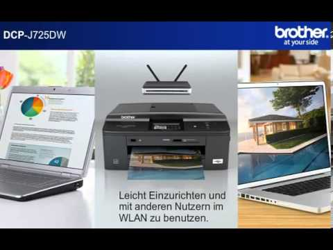 Brother DCP-J725DW Printer Driver (2019)