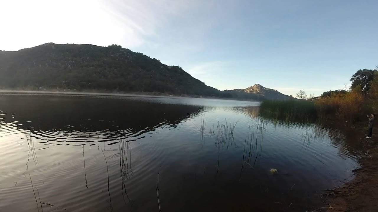 Trout fishing at lake wohlford dec 21 2014 youtube for Lake wohlford fishing report