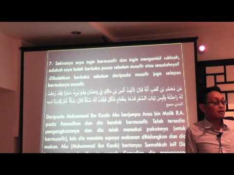Madrasah Ramadhan - PART 1