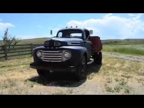 Sold 1949 Vintage Ford F5 Flatbed Dually Youtube