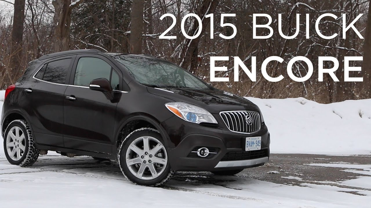 2015 Buick Encore | CUV Review | Driving.ca - YouTube