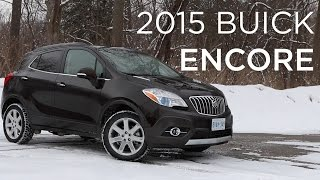 2015 Buick Encore | CUV Review | Driving.ca