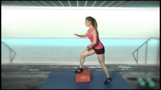 Aqua Fitness 8. Ejercicios con step