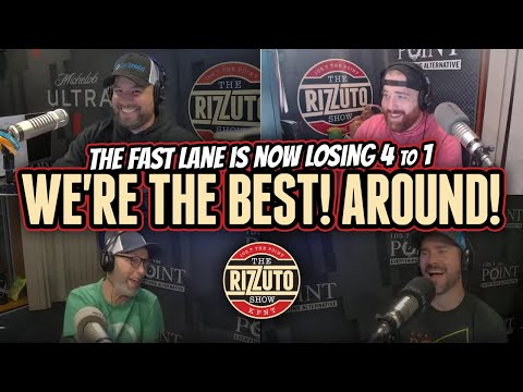 """The RIZZ SHOW is now BEATING The Fast Lane 4 to 1 in the Pick Em Challenge! """"We're The Best! Around!"""