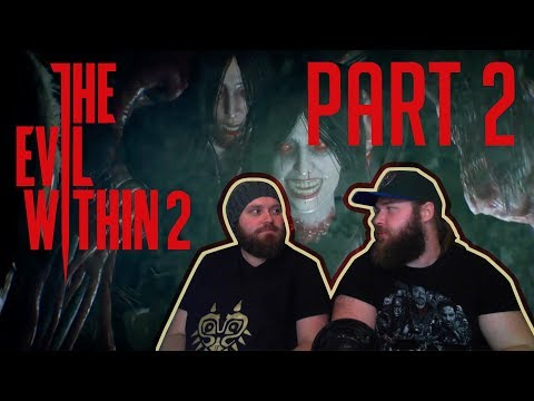 SCARE BEARS | WITH BOYFRIEND | RUNNING FOR OUR LIFE! | The Evil Within 2 Walkthrough Part 2