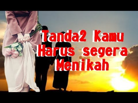 Tanda2 Kamu Harus Segera Menikah - Ustadz Kholid Basalamah Mp3