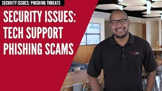 Tech Support Phishing Scams