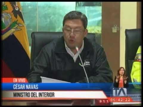 César Navas confirma el secuestro de dos personas más