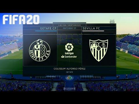 Fifa 20 Getafe Cf Vs Sevilla Fc Coliseum Alfonso Perez Youtube