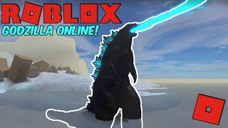 Roblox Godzilla Online - GODZILLA 2019! (The King Of The Monsters!)