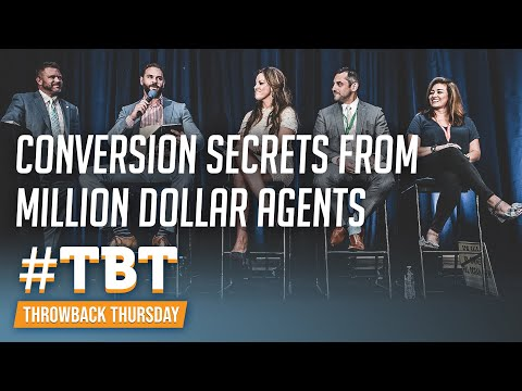 Lead Conversion Secrets From Million Dollar Real Estate Agents