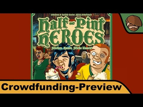 Half-Pint Heroes - Brettspiel - Crowdfunding Preview