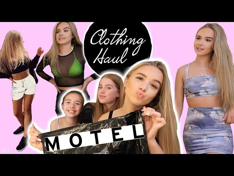 My best friend and sister judge my MOTEL ROCKS outfits!!😱
