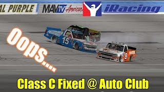 Oops.... | iRacing Class C Fixed @ Auto Club