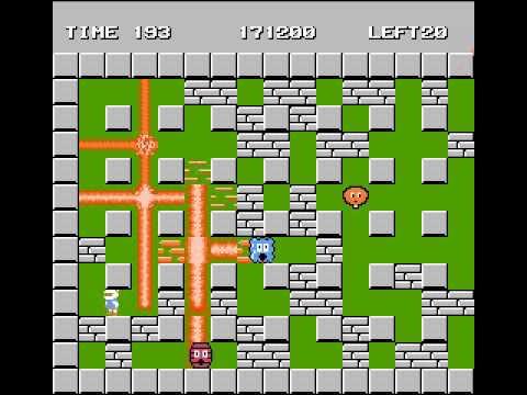 Bomberman NES 100%
