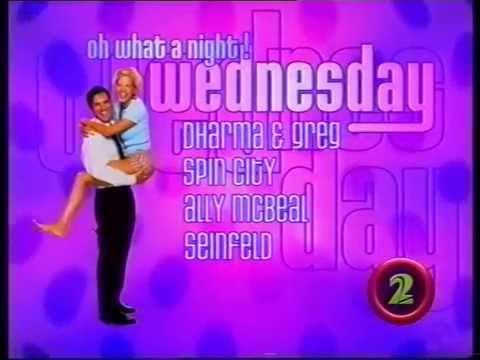 Wednesday Night Line Up 1998