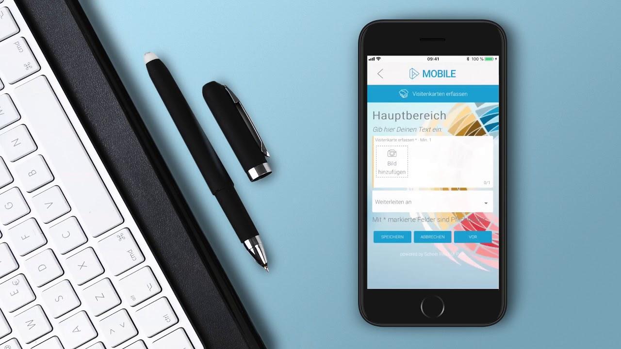 Digitaler Assistent Automatisierte Anlage Von Outlook Kontakten