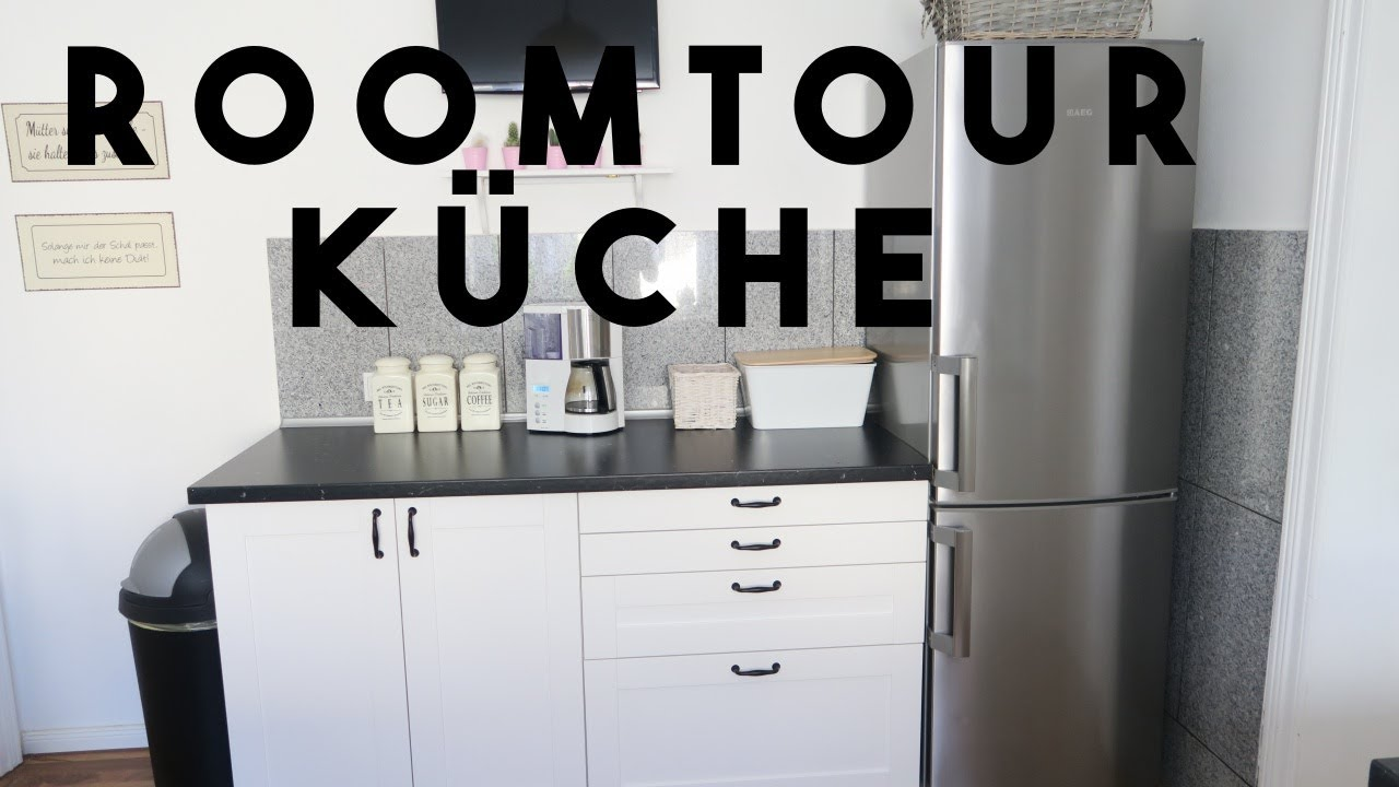 roomtour k che ikea k che aufbewahrung filiz youtube. Black Bedroom Furniture Sets. Home Design Ideas