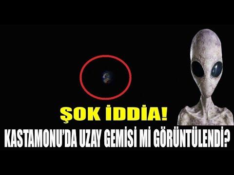 KASTAMONU'DA KAYDEDİLEN UFO