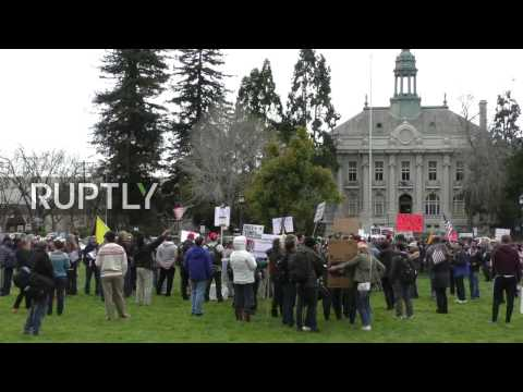 LIVE: Trump supporters rally in Berkeley, counter-protests expected
