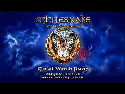 DVD/ Whitesnake - Live At Donington 1990 二手 搖滾帝國