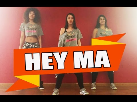 HEY MA  Pitbull & J Balvin ft Camila Cabello  ZUMBA con ALBA DURAN