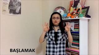 İşaret Dili Eğitimi - 5 (Fiiller)