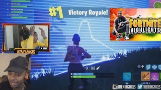 FLIGHTREACTS FIRST SOLO WIN!! Fortnite: Battle Royale! FUNNIEST FAILS & EPIC MOMENTS REACTION!