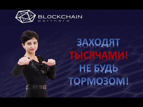 Запуск BLOCKCHAIN PARTNERS PRO.   Как зарегистрироваться?