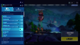 Random duos and playing with my friends|fortnite battle royale