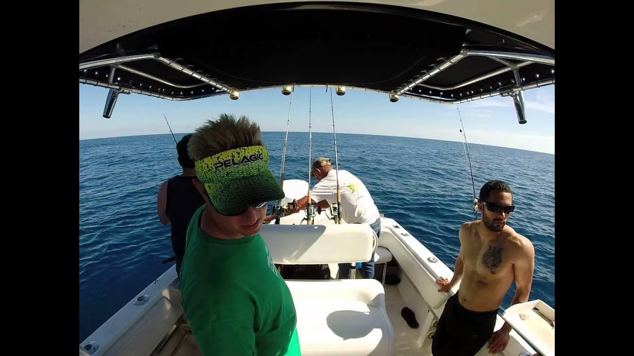 Tampa deep sea fishing charters youtube for Tampa deep sea fishing charters