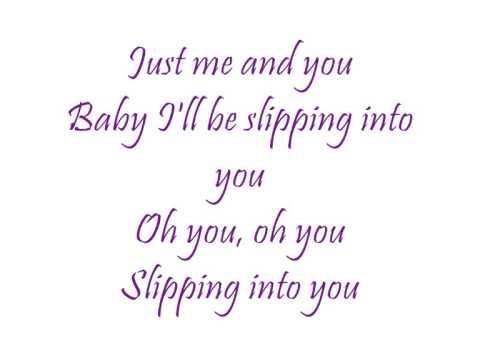 Band Ohne Namen   Slipping into you