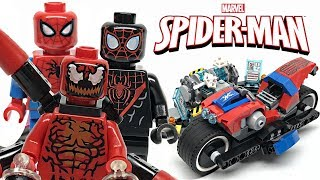 LEGO Spider-Man Bike Rescue review! 2019 set 76113!