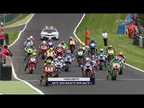 2017 MCE Insurance British Superbike Championship - R8 Cadwell Park, Race 1