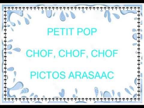 chof chof chof chof llueve arasaac