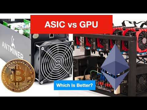 ASIC Mining Vs. GPU Mining Cryptocurrency - Which Is A Better Investment?   Vlog 38