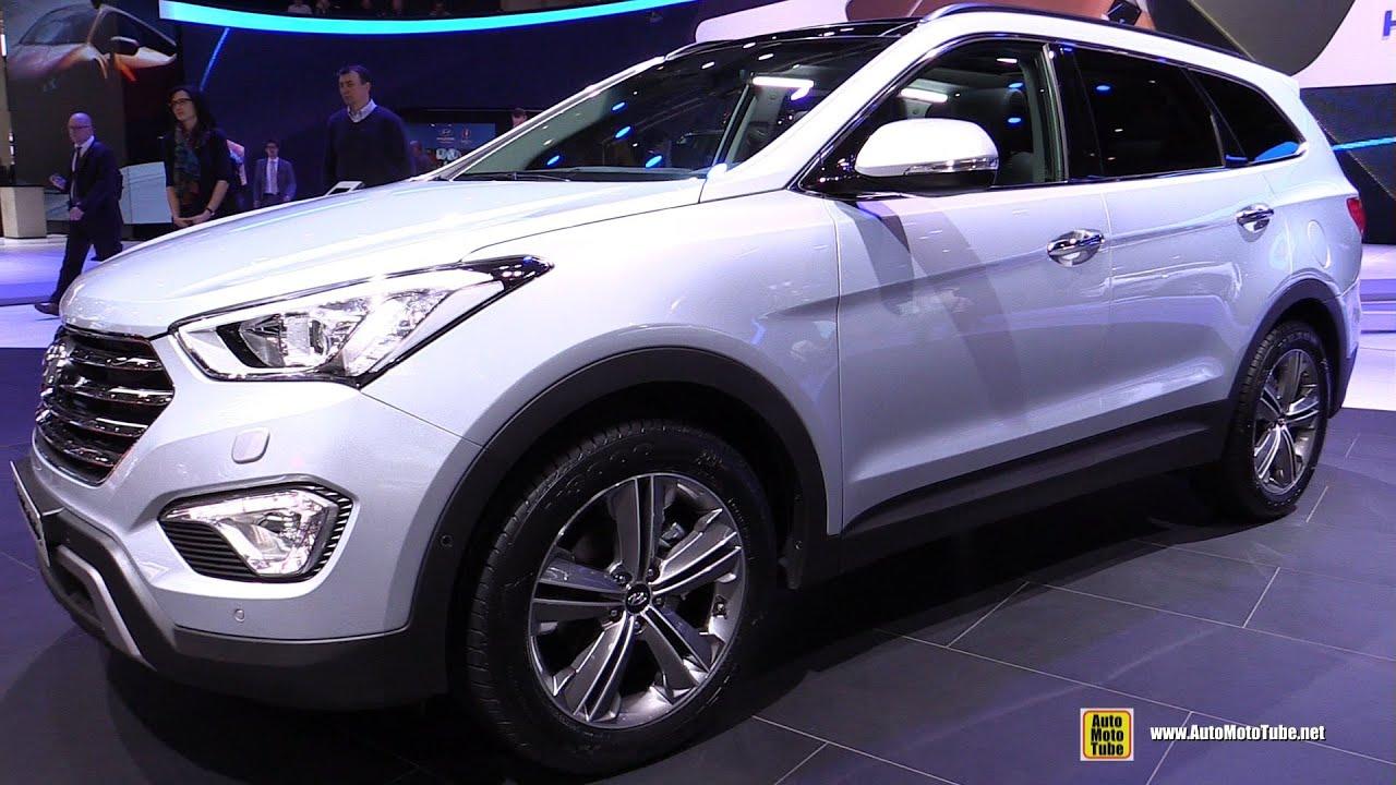 2017 hyundai santa fe interior hyundai - 2015 Hyundai Grand Santa Fe 2 2 Crdi Diesel 4wd Ext