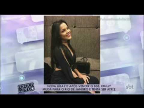 Emilly muda para o Rio de Janeiro e tenta ser atriz e cantora.📹📺💣