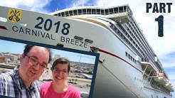 Carnival Breeze Cruise Vlog 2018 - Part 1: Embarkation Day, Galveston, Repositioning - ParoDeeJay