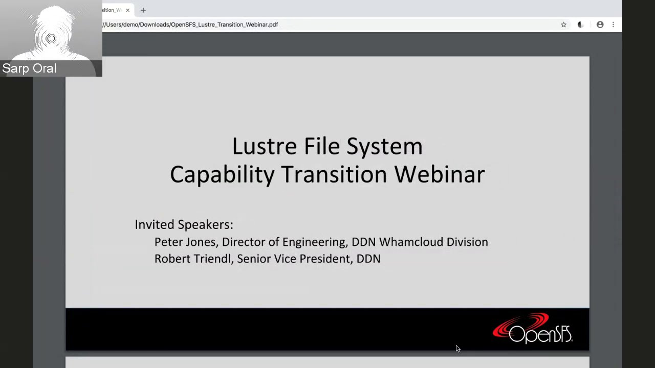 OpenSFS News | OpenSFS: The Lustre File System Community