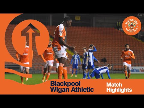 Blackpool Wigan Goals And Highlights